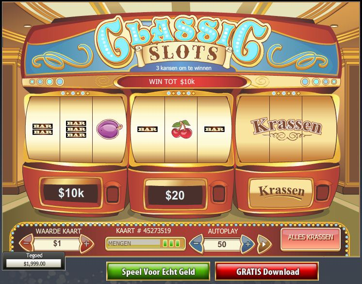 Play Classic Slots Scratch Cards at Casino.com